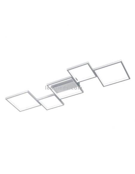 Plafón LED Blanco de estilo moderno de la colección Sorrento de Trio Lighting | LeonLeds Iluminación