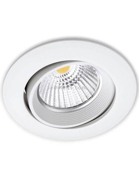 Foco empotrable orientable LED DOT Tilt Blanco ArkosLight | LeonLeds