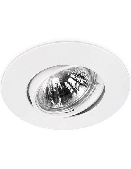 Aro basculante grande Basic Tilt Extra Blanco | Leonleds Iluminación