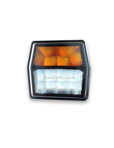 Faro delantero LED Posición e Intermitente Fristom FT223 LED | LeonLeds Iluminación