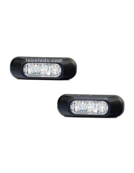 Destellante LED Ambar Homologado FT-210 Fristom | LeonLeds Iluminación