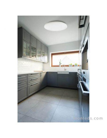 Plafón LED redondo 48Cm Zero II | LeonLeds Iluminación