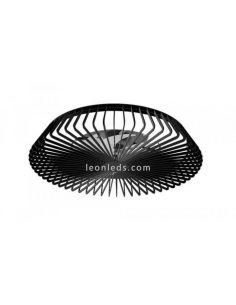 Ventilador LED de techo negro Himalaya 7121 Mantra Iluminación | LeonLeds iluminación
