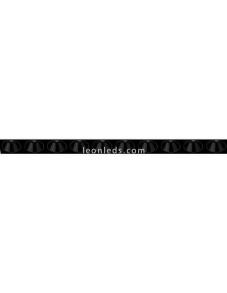 Donwlight LED Black Foster Asymmetric Trimless 10 ArkosLight   LeonLeds Iluminación