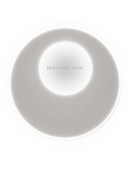 Plafón LED Krater con Mando a distancia Mantra 6546 | LeonLeds Iluminación