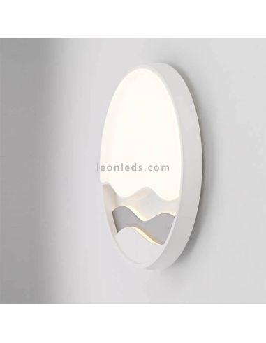 Aplique / Plafón LED con mando a distancia Mar 24W 6454 Mantra | LeonLeds Iluminación