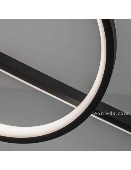 Lámpara colgante LED lineal KiteSurf 7140 Mantra | LeonLeds Iluminación