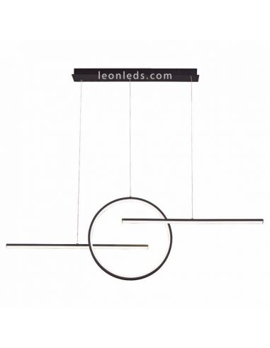 Lámpara colgante LED lineal KiteSurf 7190 Mantra | LeonLeds Iluminación