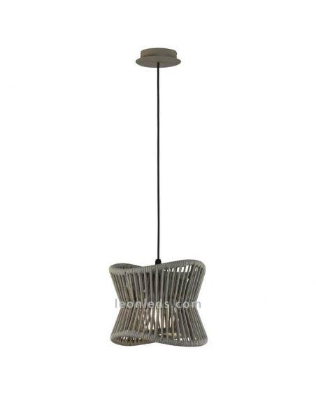 Lámpara colgante de Exterior moderna Polinesia 7131 Mantra | LeonLeds Iluminación