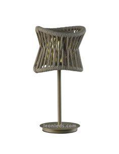 Lámpara de sobremesa LED portatil de exterior Polinesia 7135 Mantra | LeonLeds Iluminación