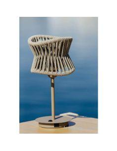 Lámpara de mesa de exterior USB polinesia 7134 Mantra | LeonLeds Iluminación
