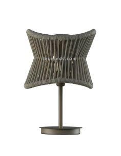 Lámpara de mesa de exterior polinesia 7137 Mantra | LeonLeds Iluminación