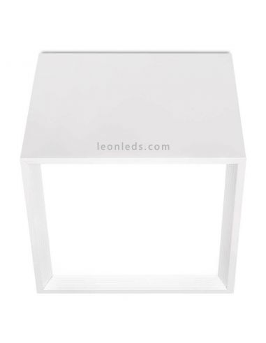 Plafón LED Cuadrado 10,5W Block 1 Blanco de ArkosLight