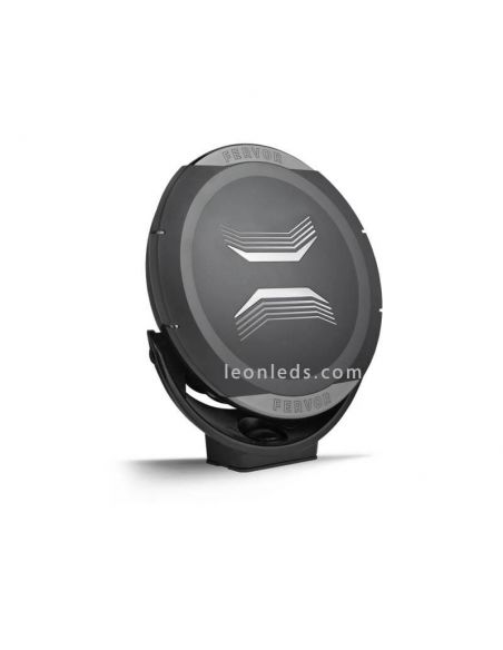 Faro LED redondo negro Homologado Fervor 220 50Cd Wesem | LeonLeds