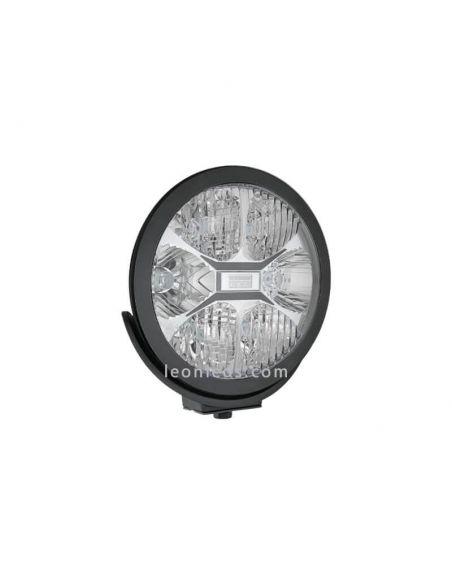 Faro LED redondo negro Homologado Fervor 220 50Cd Wesem | LeonLeds Iluminación
