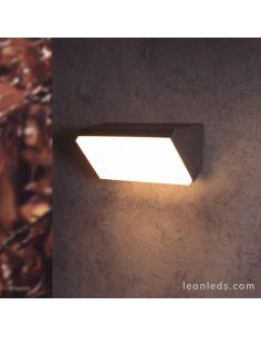 Aplique LED Solden Horizontal Mantra 7070 Gris Oscuro de Mantra | LeonLeds Iluminación