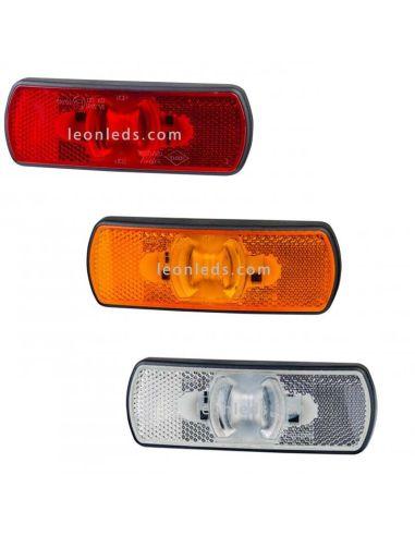 Piloto LED Galibo Ambar Blanco Rojo Homologados LD2215 LD2216 LD2217 Horpol   LeonLeds Iluminación