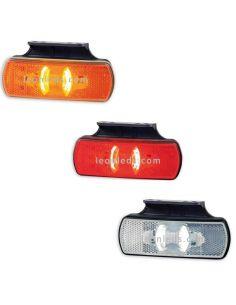 Pilotos LED Galibo con soporte Ambar Blanco Rojo Horpol LD2219 LD2220 LD2221 | LeonLeds Iluminación