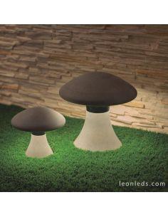 Baliza LED de Exterior Taos 7105 7106 Mantra | LeonLeds Iluminación