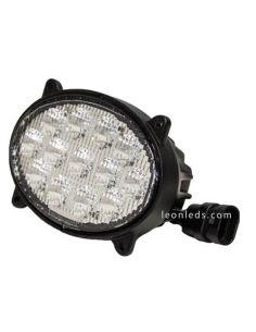 Faro LED ovalado John Deere Empotrable serie 8000 y 9000 Agropar | LeonLeds Iluminación