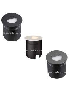 Baliza Empotrable LED para exterior Aspen 7027 7028 7029 | LeonLeds