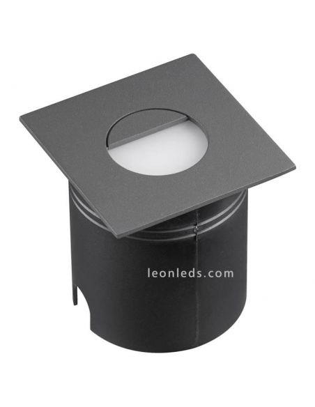 Empotrable LED de señalización exterior gris oscuro Aspen Mantra 7030 | LeonLeds Iluminación
