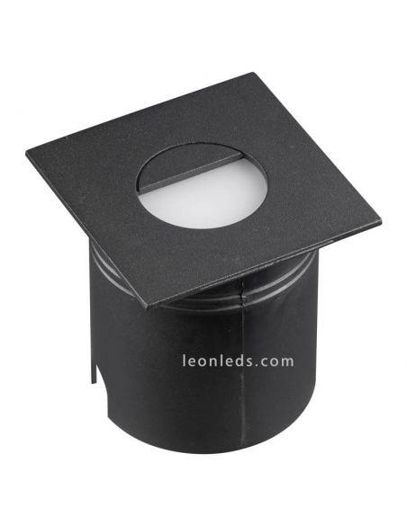 Empotrable LED de señalización exterior negro Aspen Mantra 7031 | LeonLeds Iluminación