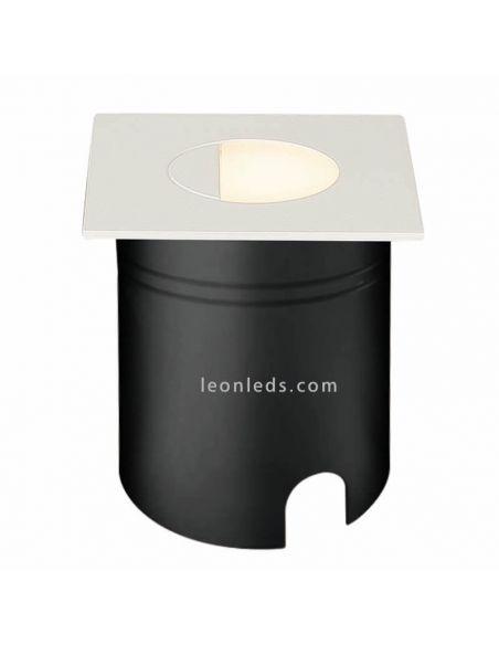 Empotrable LED de señalización exterior blanco Aspen Mantra 7032 | LeonLeds Iluminación