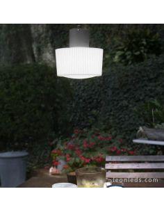 Lámpara de techo exterior Muffin 74427 + 74429 Faro Barcelona | LeonLeds Iluminación
