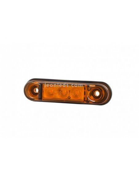 Piloto LED Ambar pequeño LD2439 Horpol | LeonLeds Iluminación