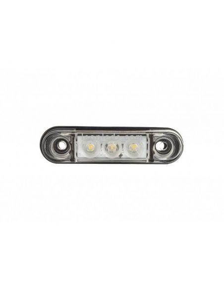 Piloto LED blanco pequeño LD2438 Horpol | LeonLeds Iluminación