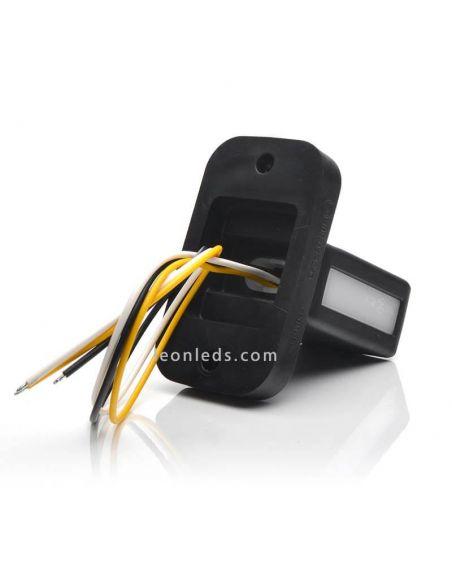 Cuerno LED corto con intermitente W168 categoría 5 | LeonLeds