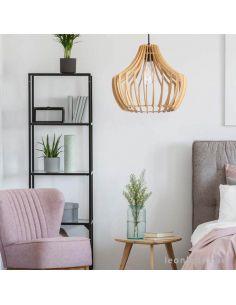 Lámpara de techo madera Arce | LeonLeds Iluminación