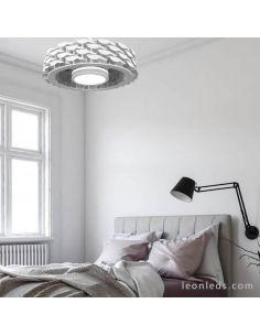 Ventilador de Techo Ness LED sin aspas blanco Sulion | LeonLeds Iluminación