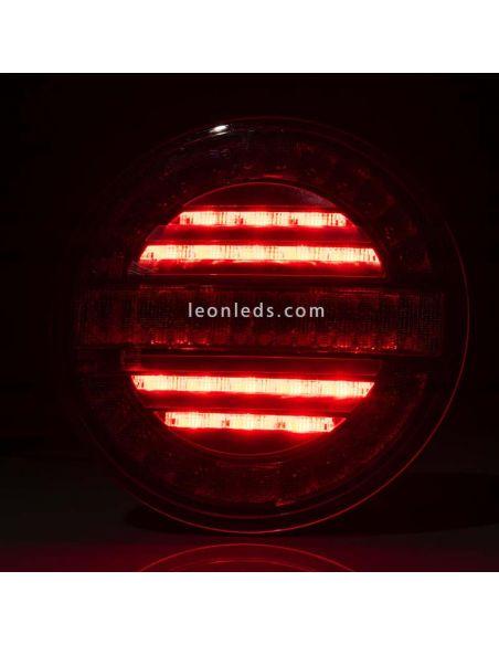Kit Pilotos LED redondos Fristom FT-213 y FT-214 | LeonLeds Iluminación