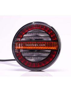 Piloto LED redondo con intermitente dinámico FT-213 Fristom | LeonLeds Iluminación