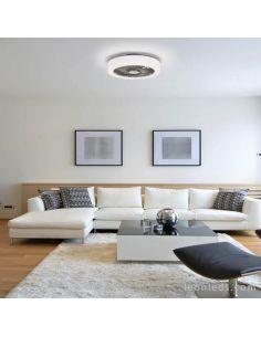Plafón LED Ventilador con mando ACB Iluminación | LeonLeds Iluminación