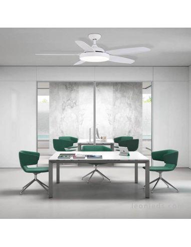 Ventilador de techo LED potente Mistral ACB Iluminación | LeonLeds Iluminación