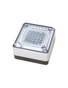 Baliza LED solar exterior cuadrada UTU Cristher Lighting | LeonLeds Iluminación