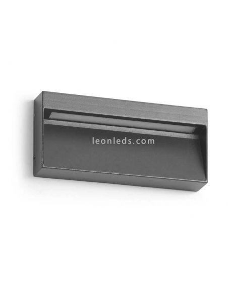 Aplique LED exterior gris 7W 3 Colores Abar | Dopo Lighting