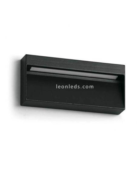 Aplique LED exterior negro 7W 3 Colores Abar | Dopo Lighting