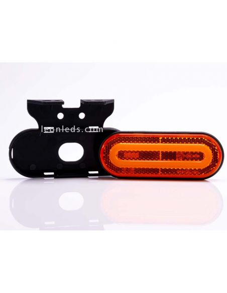 Piloto LED de galibo con soporte Blanco Ambar Rojo FT-072 | LeonLeds Iluminación