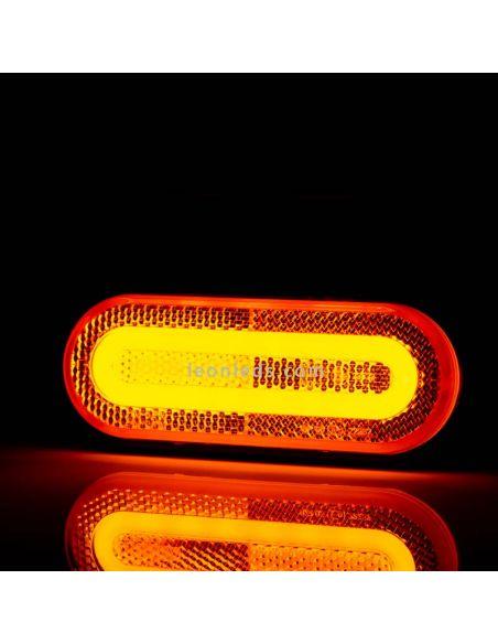 Piloto LED de galibo con soporte Blanco Ambar Rojo FT-072 Z Fristom | LeonLeds