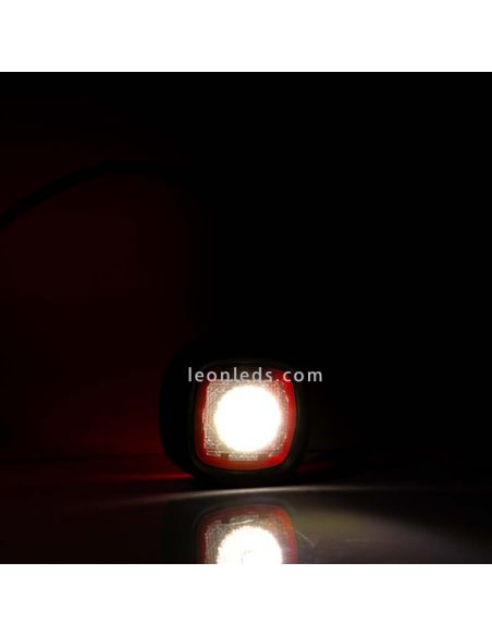 Piloto LED lateral Blanco y Rojo FT-141 LED Fristom | LeonLeds