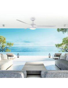 Ventilador de Techo LED 3 aspas con luz Rahu Iot Sulion   LeonLeds Iluminación