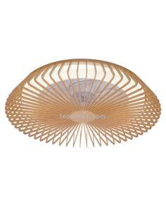 Ventilador de techo LED madera Himalaya 7128 Mantra | LeonLeds Iluminación