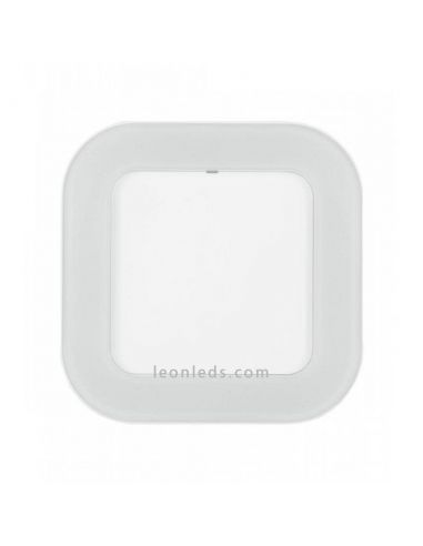 Aplique LED cuadrado blanco Surface Square Led Vance | LeonLeds Iluminación