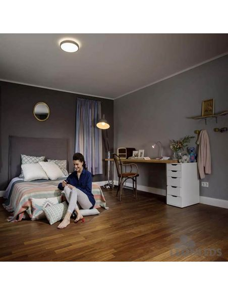Habitación Plafón LED 16W color de luz regulable mediante interruptor Click CCT Orbis LedVance | LeonLeds Iluminación