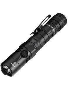 Linterna LED 1200Lm MH12 Recargable botón lateral Nitecore | LeónLeds Iluminación