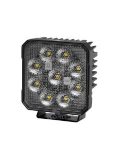 Faro de Trabajo LED cuadrado Hella Value Fit TS3000 3000Lm | LeonLeds